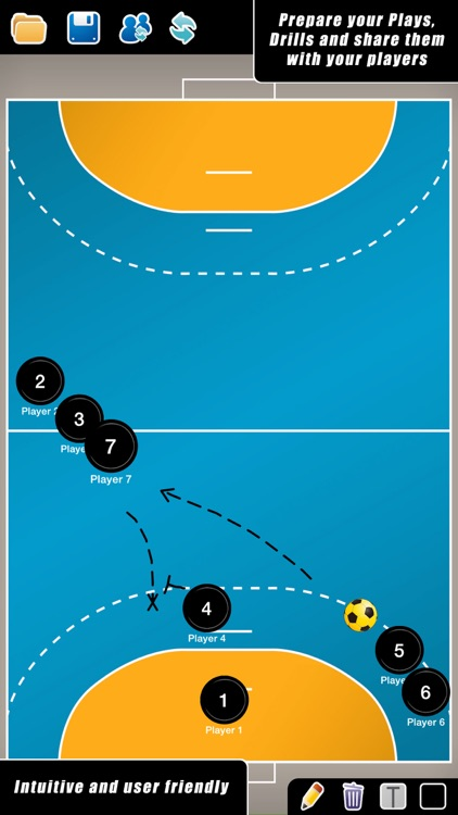 Coach Tactic Board: Handball++