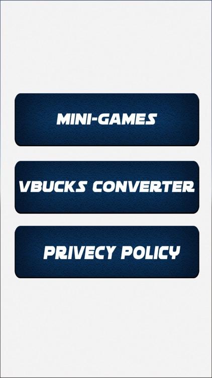 Vbucks for Fortnite Converter