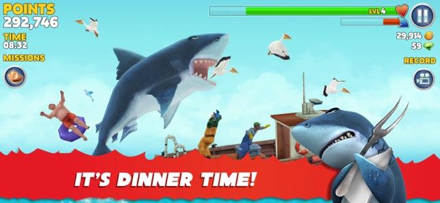 hungry shark evolution hack game online