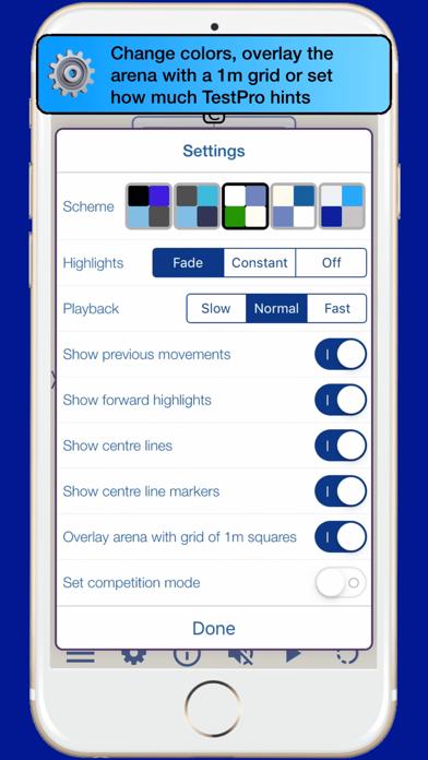 TestPro US Dressage Federation Screenshot
