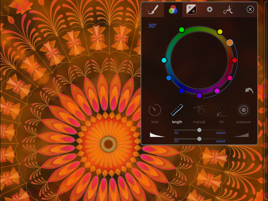 iOrnament: draw symmetric art Screenshots