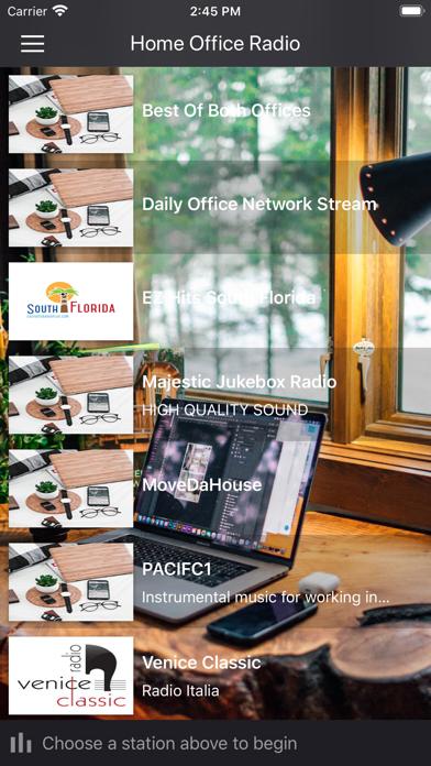 Home Office Radio screenshot 1