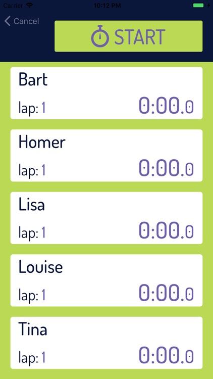 Team Timer Basic screenshot-5