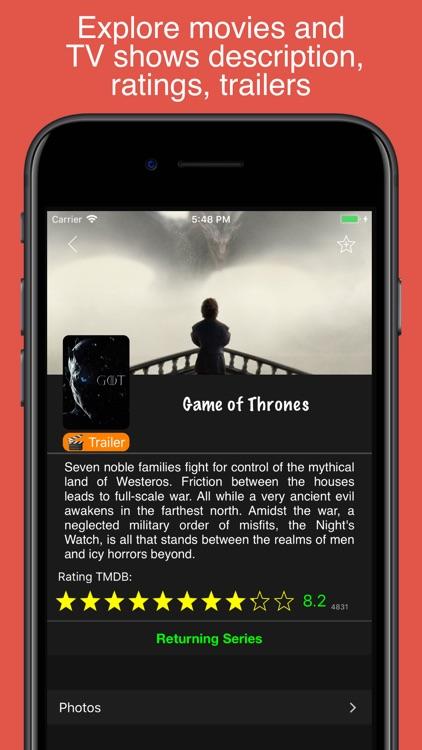 My Movies & TV Shows Watchlist screenshot-5