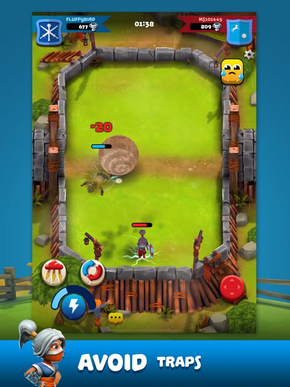 Ipad Screen Shot Knockdown Heroes 8
