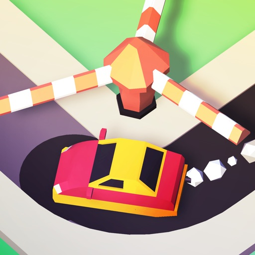 Trappy Road - Car & traps game