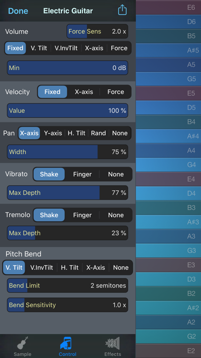 Thumbjam review screenshots