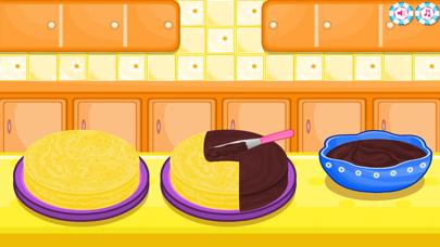 العاب طبخ: صنع الكعكلقطة شاشة5