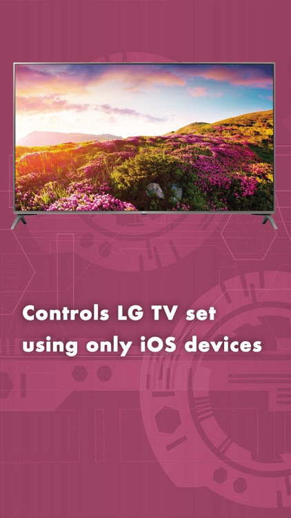 Smart Remote Control for LG TV