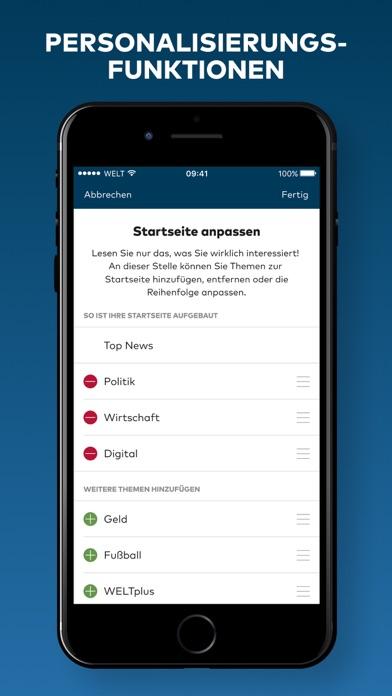 WELT News – Nachrichten live Screenshot