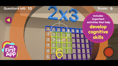 Multiplication table - AR game screenshot 4