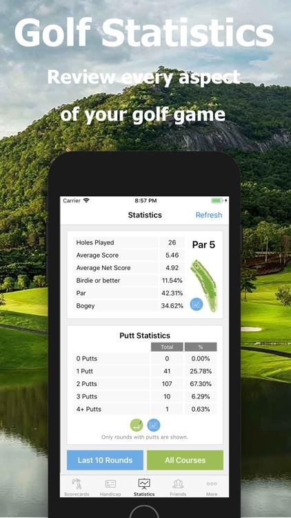 Golf Handicap - Online Golf screenshot-3