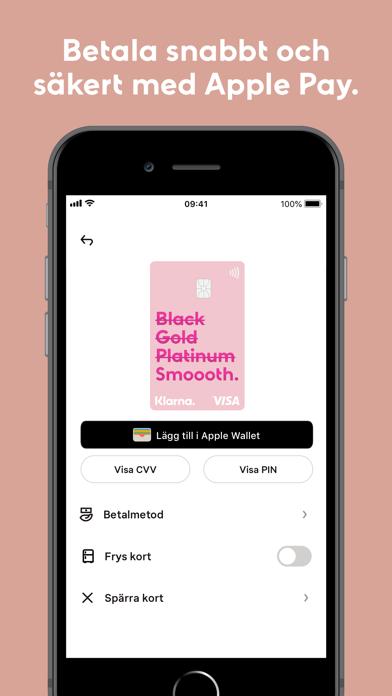 Screenshot for Klarna in Sweden App Store