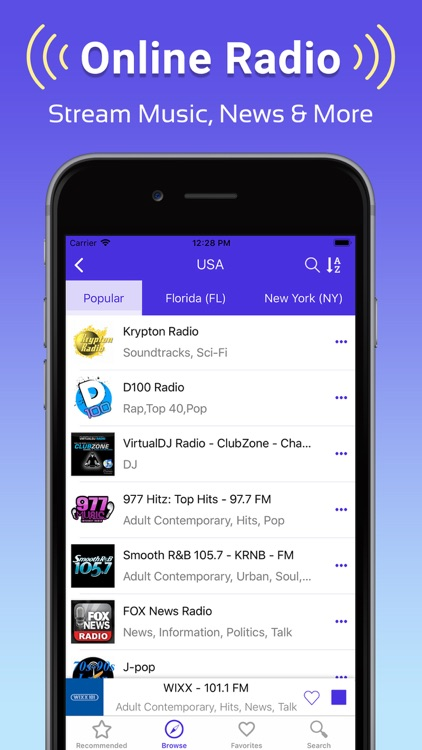 Radio FM: Music, News & Sports screenshot-4
