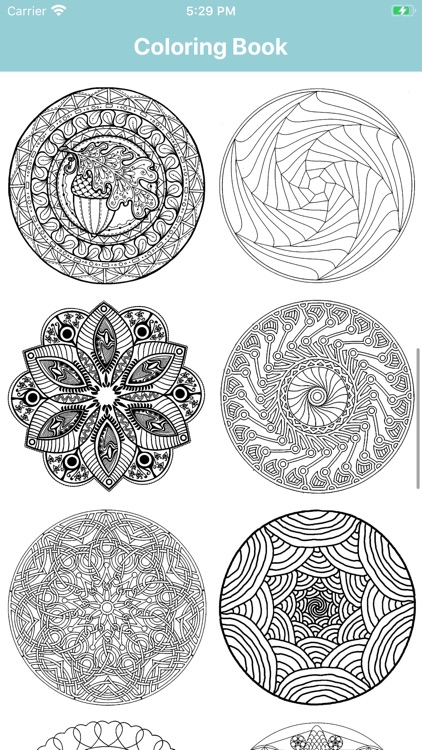 Mandala Coloring Book for Me screenshot-3