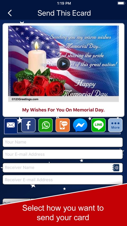 Memorial Day Cards and Wishes screenshot-3