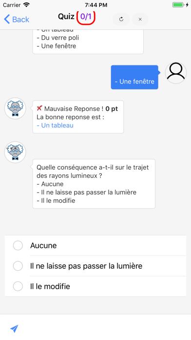 Physique Première S screenshot 3