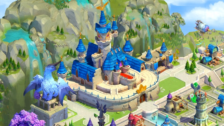 Sky Kingdoms: Dragon War screenshot-0