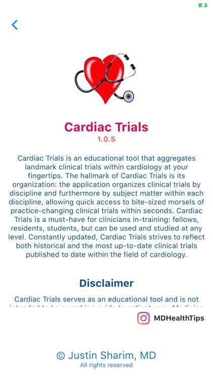 Cardiac Trials screenshot-7