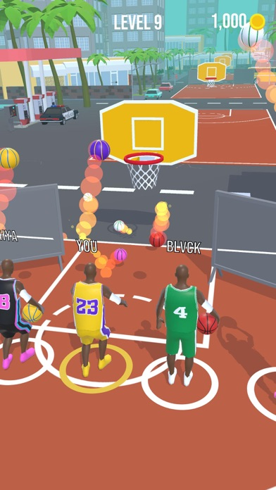 Basket Race screenshot 1