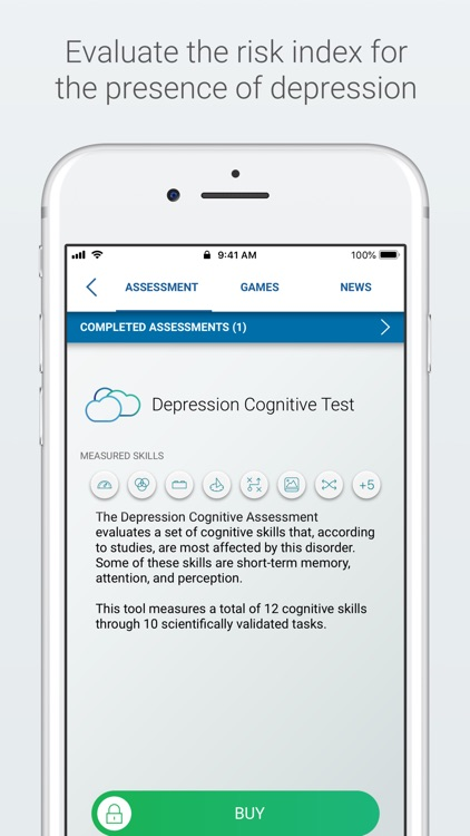 Depression Test and Training