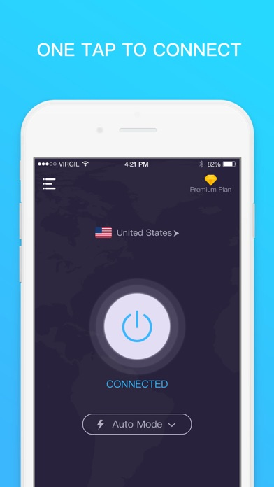 VPN for iPhone - Unlimited VPN Screenshot on iOS
