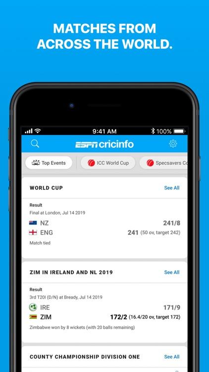 Cricinfo - Live Cricket Scores screenshot-4