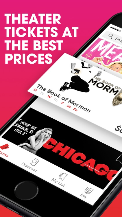 TodayTix – Broadway Tickets screenshot-0