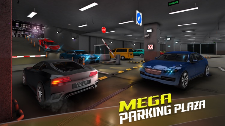 Car Driving School Modern City