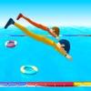 游泳大作战 - 滑水障碍赛