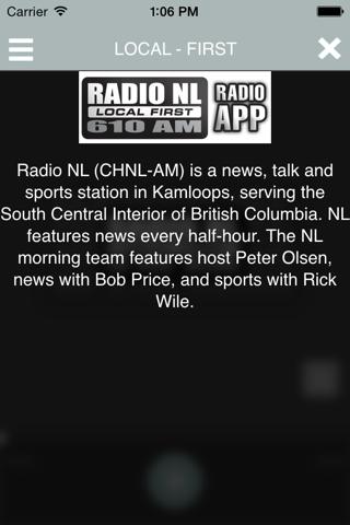 Radio NL 610 Kamloops - náhled