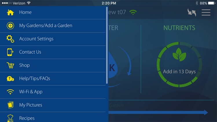 AeroGarden Wi-Fi screenshot-1