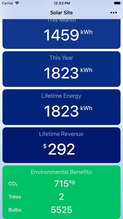 Solar Watch for SolarEdge screenshot-5