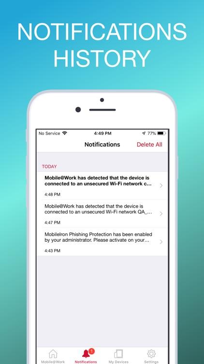 MobileIron Mobile@Work™ Client screenshot-3