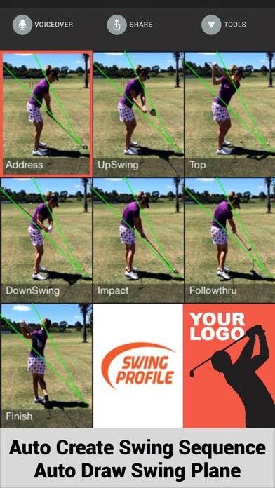 Swing Profile Golf Analyzer screenshot three
