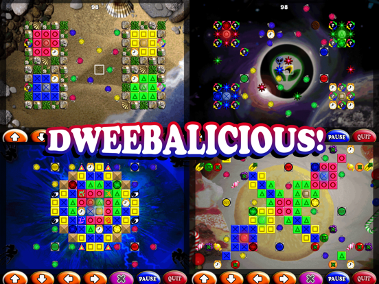 Dweebs™ Platinum Remix Screenshots