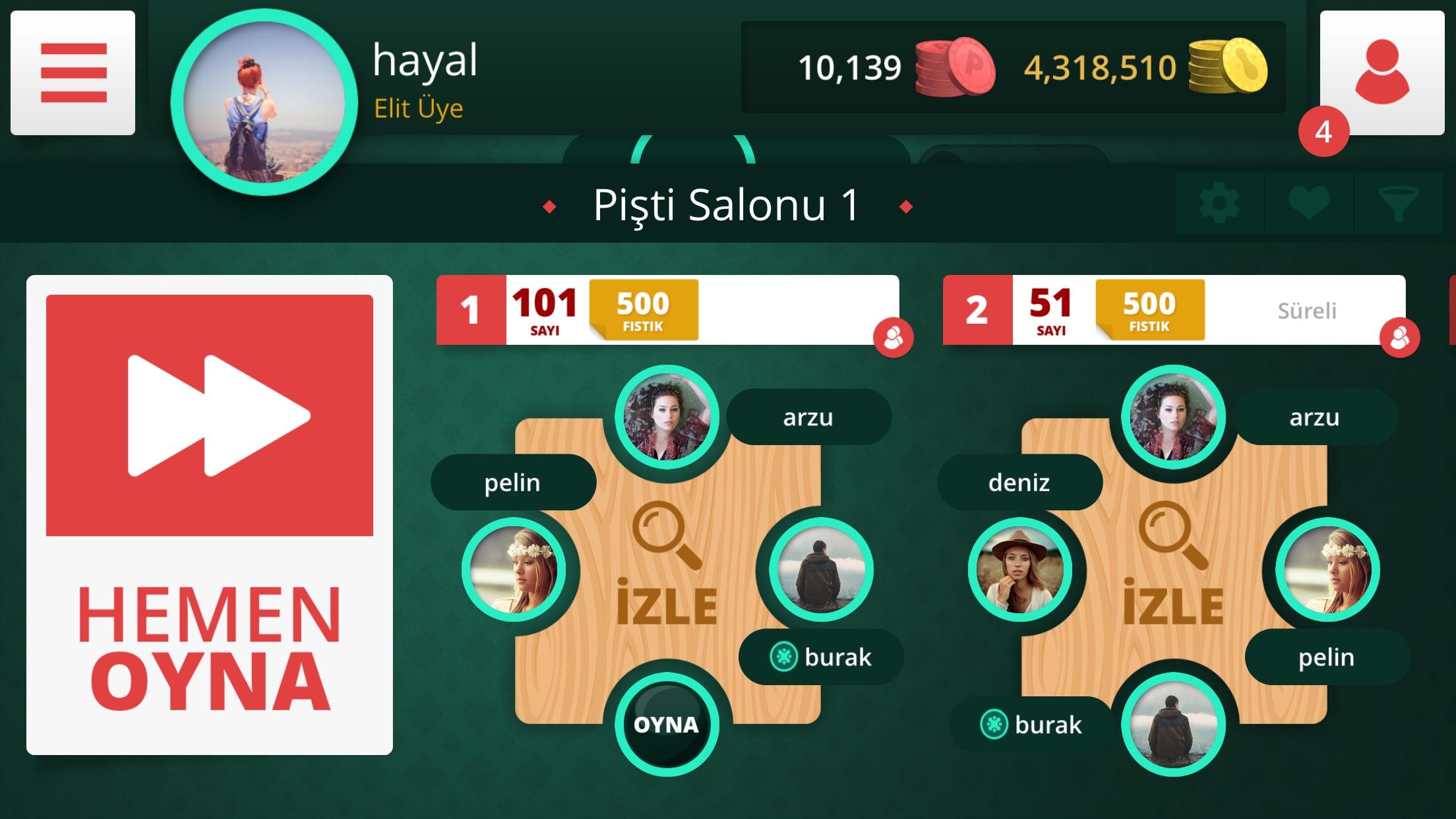 Gamyun Pişti Screenshot