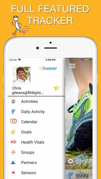 iRunner Run & Jog Tracker screenshot-8