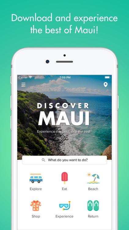 Discover Maui - Travel Guide screenshot-0