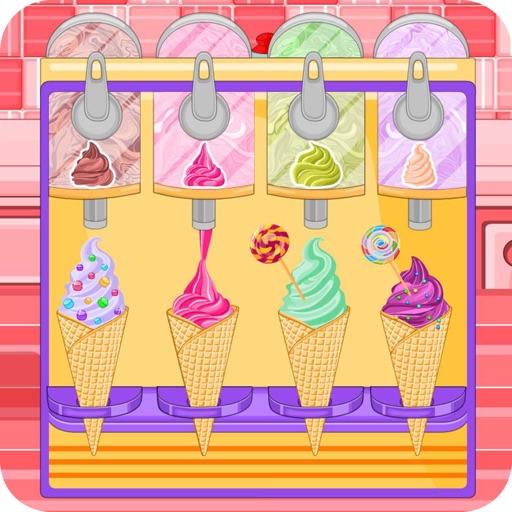 Конфета в форме мороженого