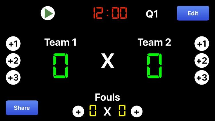 Virtual Scoreboard