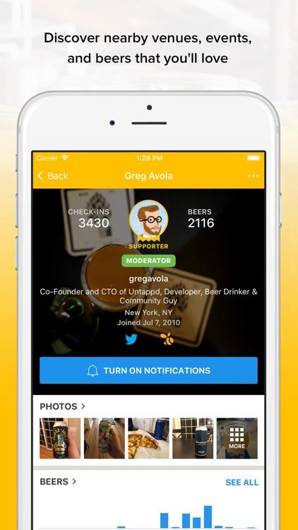 Untappd - Discover Beer screenshot-4