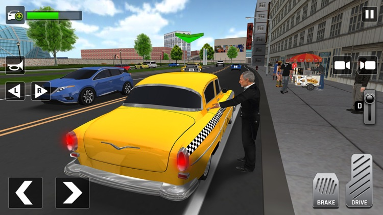 City Taxi Driving: Driver Sim screenshot-1