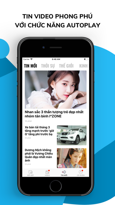 Zing.vn screenshot two
