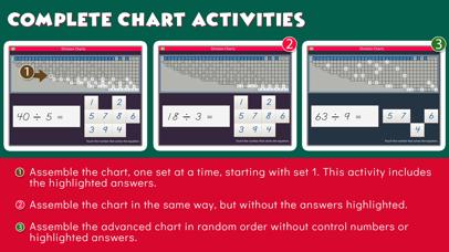 Montessori Division Charts screenshot 6