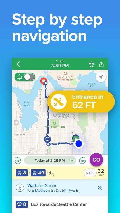 Seattle Transit • Bus & Train screenshot-3