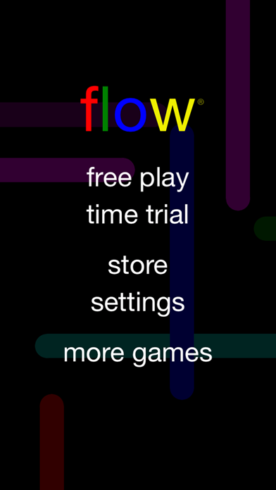 Screenshot from Flow Free