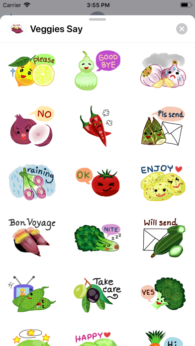 Veggies Say screenshot 1