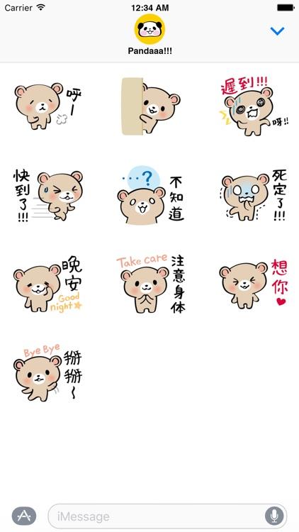 Pretty Teddy Bear Stickers screenshot-4