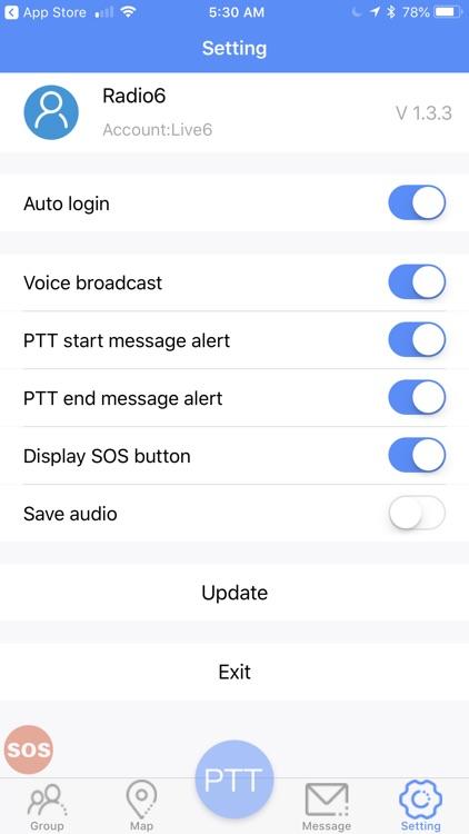 PEAK PTT screenshot-3